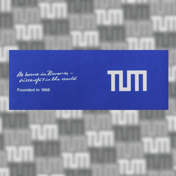 "TUM sticker ""At home in Bavaria"", medium"