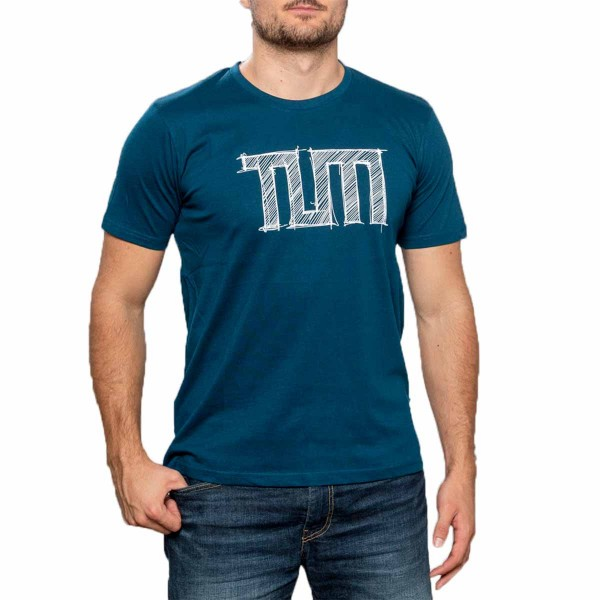 T-Shirt Sketch Men dark blue