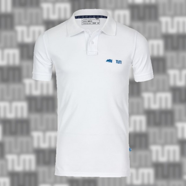 TUM MRI polo shirt Men white