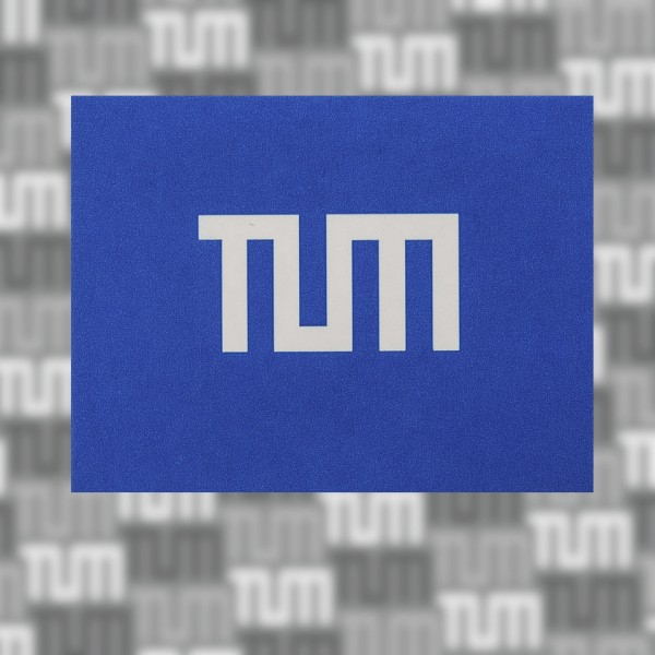 TUM sticker small, 5 pieces (size 3)